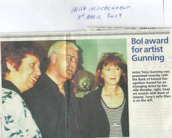 Irish Independent April 2007