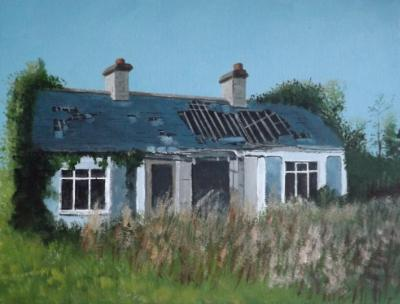 Abandoned Cottage, Ballaghadereen