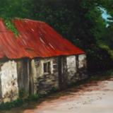 Cottage with Red Roof